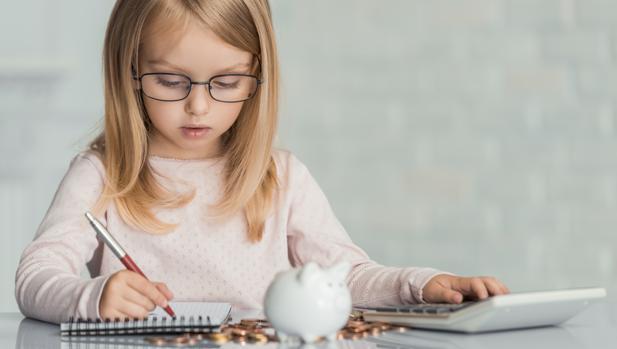 Niños y educación financiera