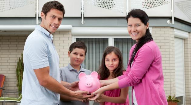 Hábitos financieros en familia