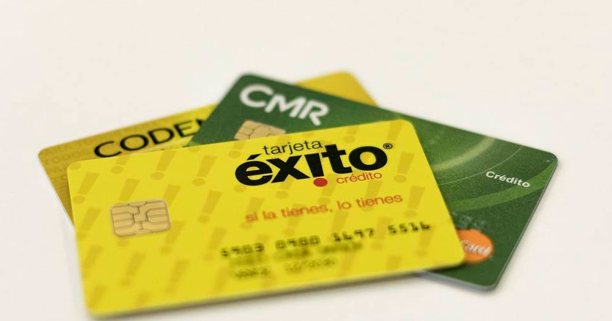 Tarjetas de crédito en Colombia