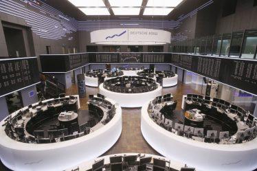El sistema de intercambio usado por la Bolsa de Frankfurt es Xetra