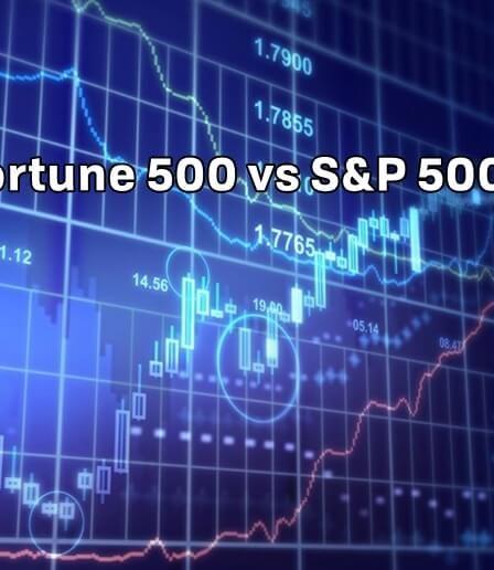 Conoce la diferencia entre el Fortune 500 y el S&P 500